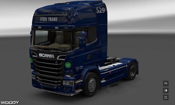 Steel Trans skin for Scania Streamline