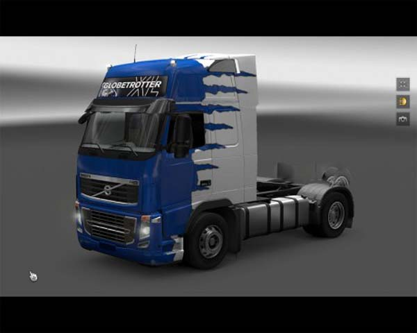 The Monster Volvo skin