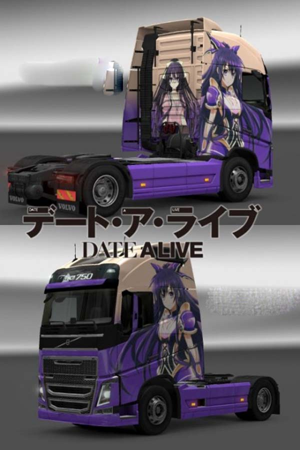 Tohka Date A Live skin for Volvo FH2012