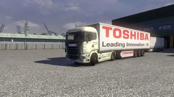 Toshiba Trailer Skin