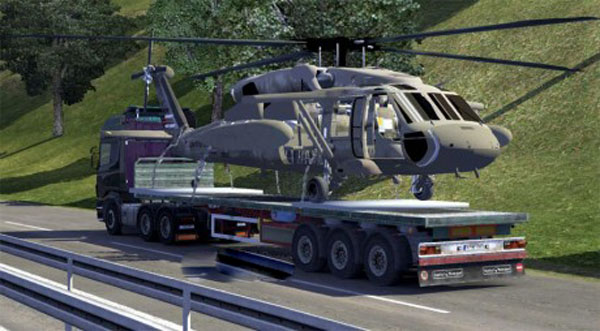UH60 Helicopter Trailer