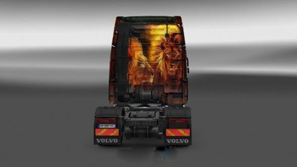 Volvo FH 2012 Lion Skin