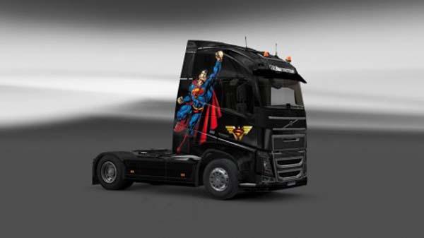 Volvo FH 2012 Superman Skin