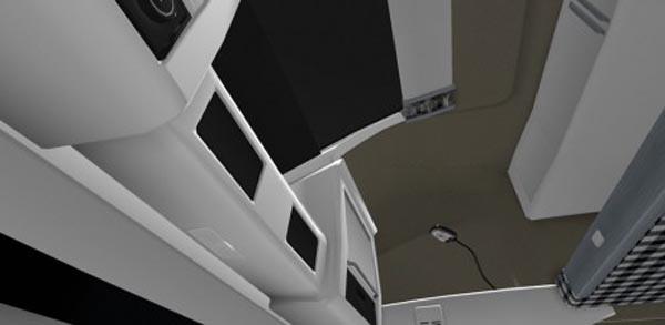 Volvo FH 2012 White Board