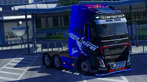 Volvo FH 2012 White Shark Skin