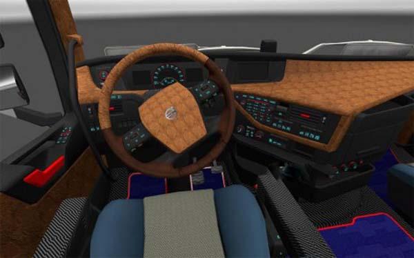Volvo FH16 2012 Leather Carbon interior