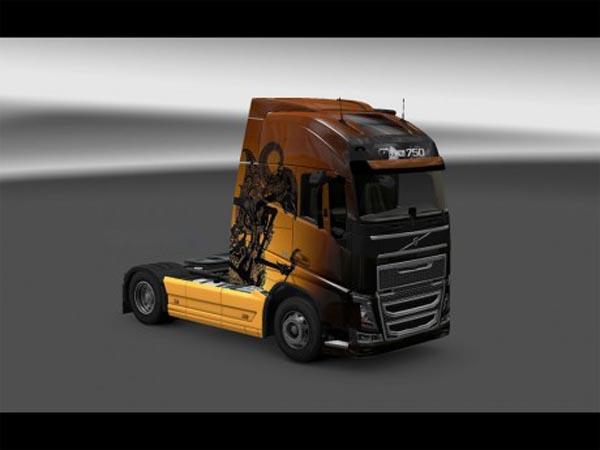 Volvo Wayang Skin
