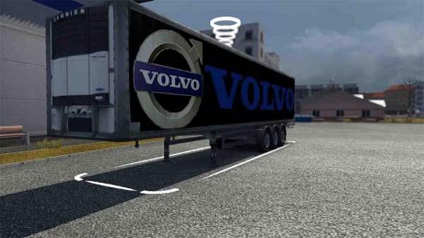 Volvo trailer