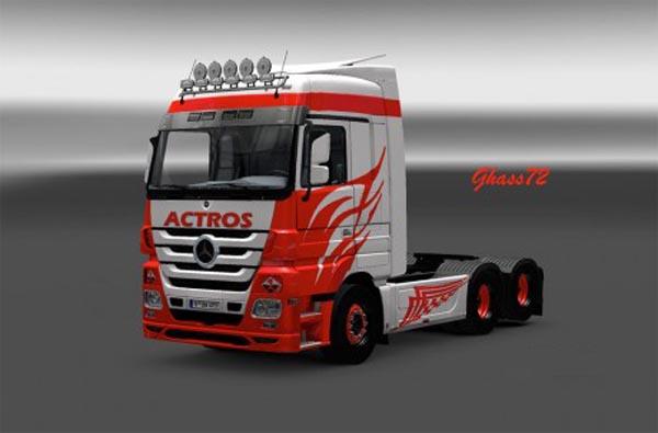 Actros RW-1 skin