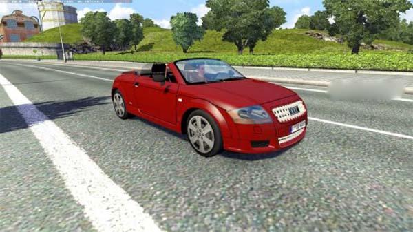 Audi TT Cabrio AI Traffic Car