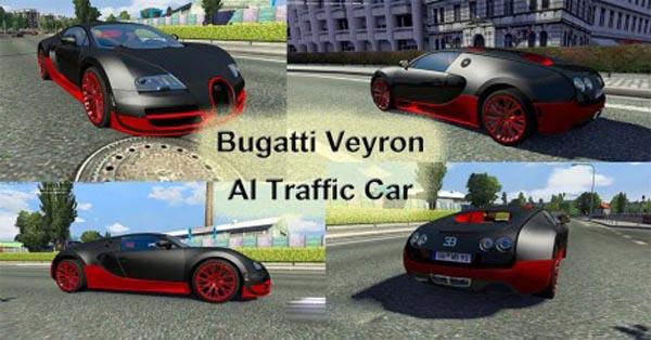 Bugatti Veyron AI Traffic Car
