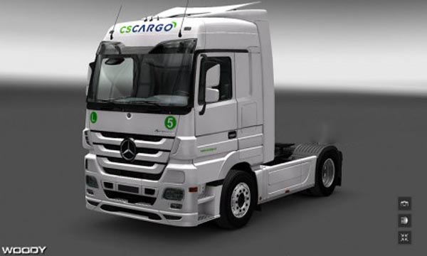 CS Cargo skin for MB Actros