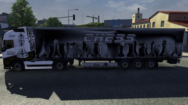Chess Volvo 2012 skin + trailer