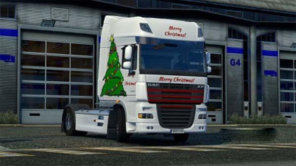 Christmas DAF XF