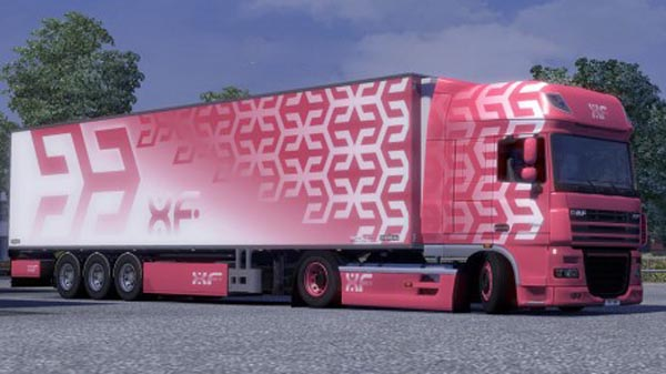 DAF XF Combo Pack (Candy Red)