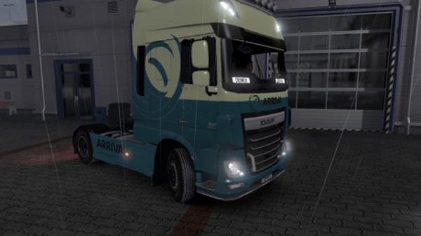 DAF XF Euro 6 Arriva Skin