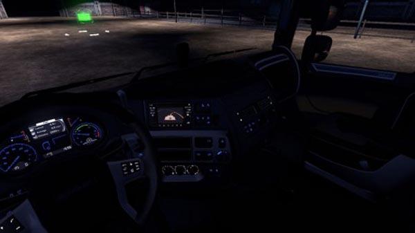 DAF XF Euro 6 Blue Dashboard