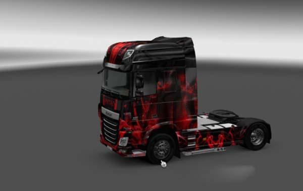 DAF XF Euro 6 Fantazy fo Dreams Skin