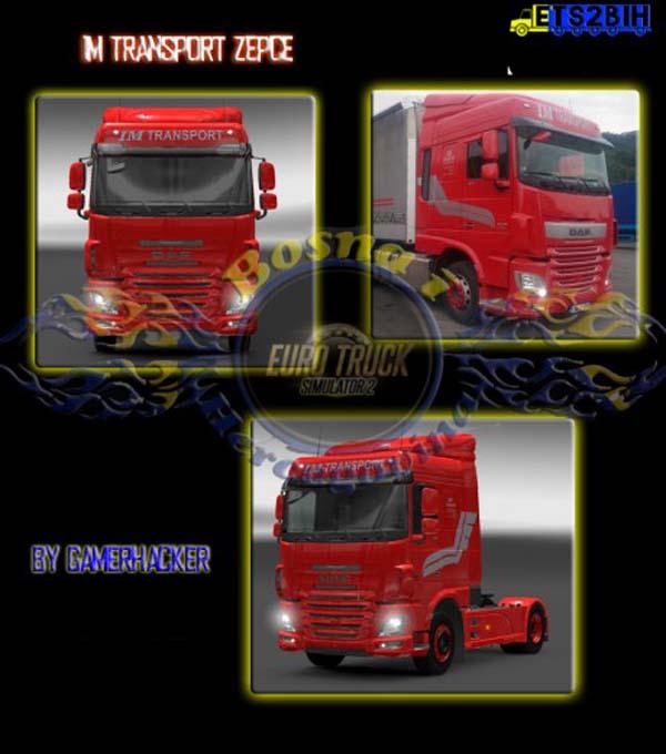 DAF XF Euro 6 IM Transport Skin