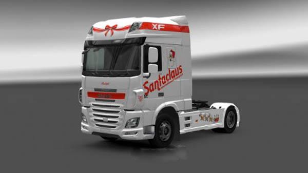 DAF XF Euro 6 Santaclaus Transport Skin
