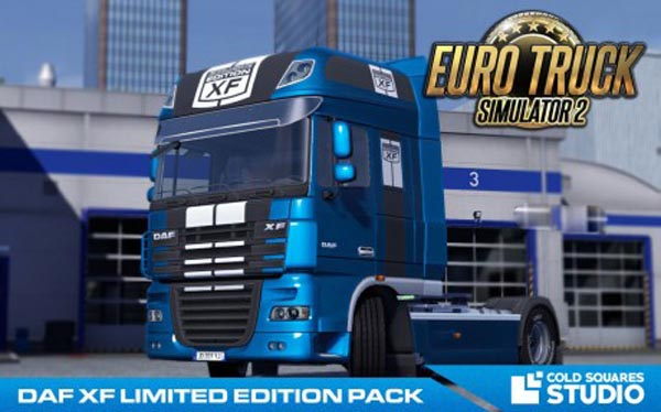 DAF XF Limited Edition pack HD