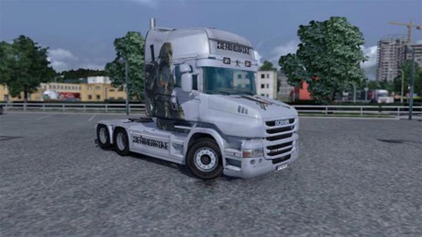Deathstroke skin for Scania T Topline