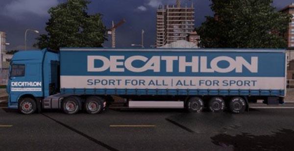 Decathlon Pack for DAF Euro 6