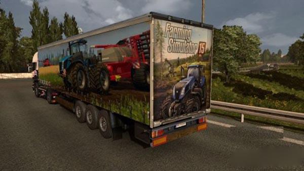 Farming Simulator 15 trailer