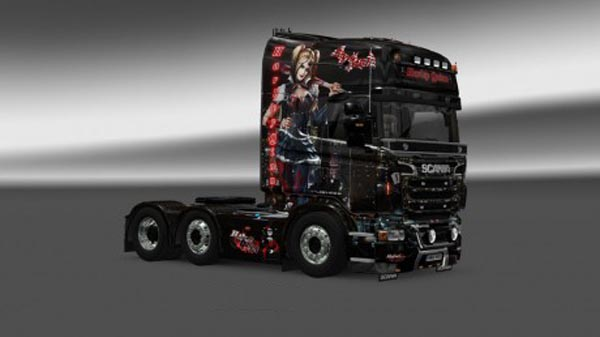 Harley Quinn Dark (adjusted Megastore Scania Skirts)