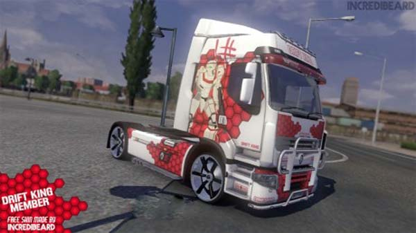 IncrediBeards DRIFTKING Truck Skin