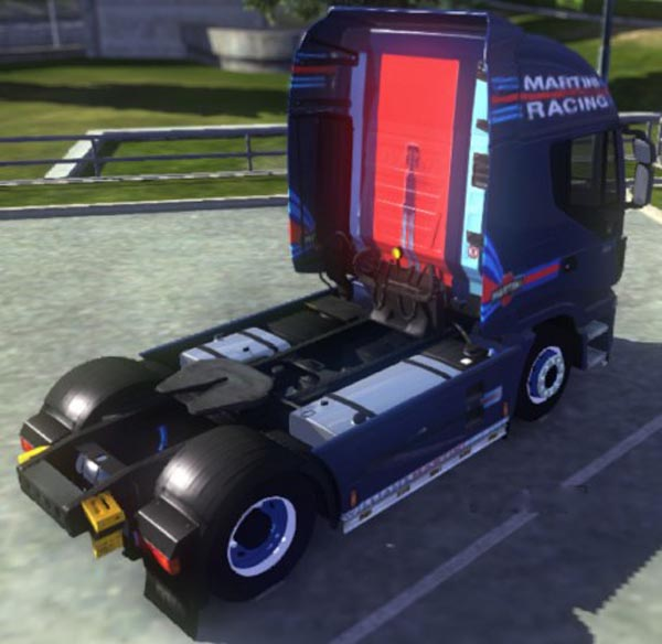 Iveco Hi Way Williams Martini Racing Blue Skin