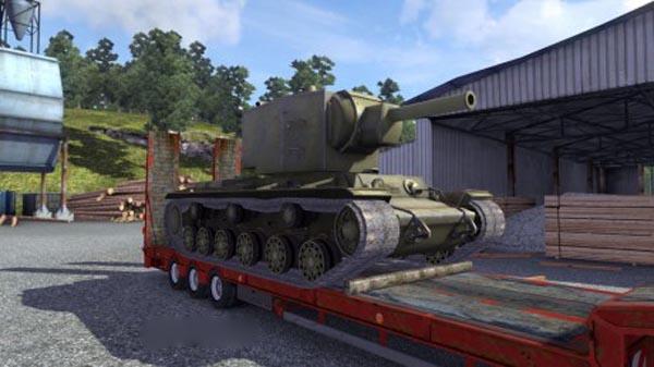KV-2 Overweight Cargo