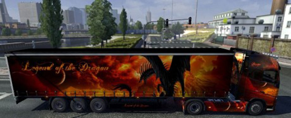 Legend of the Dragon Volvo 2012 skin + trailer