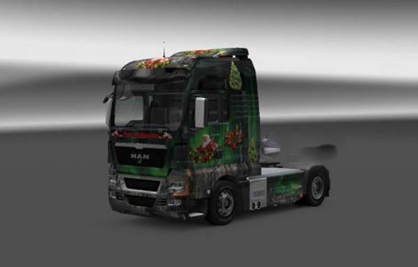 MAN TGX Little Christmas skin