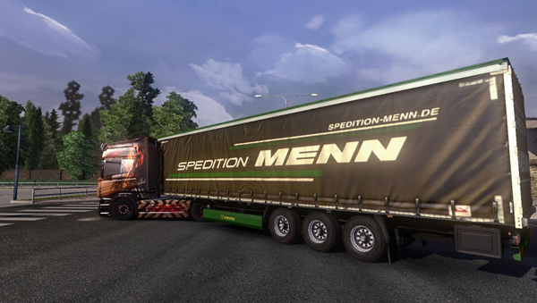 Menn Spedition Trailer Skin