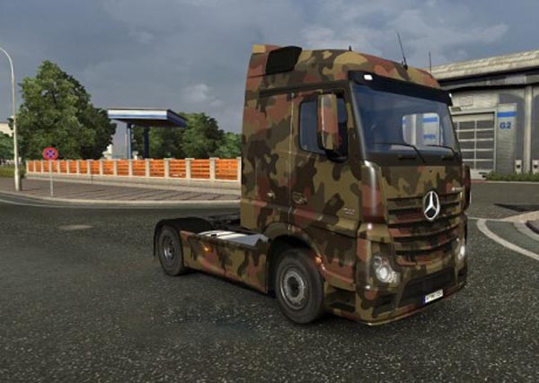 Mercedes MP4 Army Skin