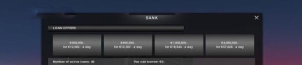 New bank loans