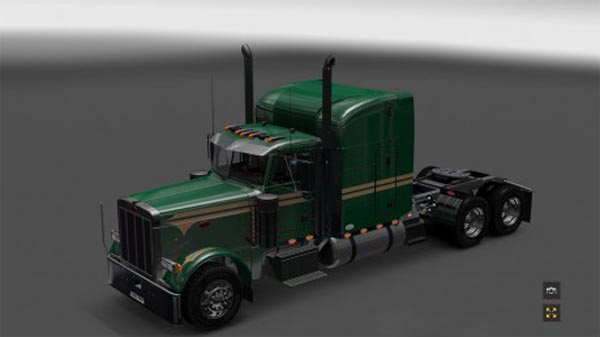 Peterbilt 379EXHD v2.0 Mr Green skin