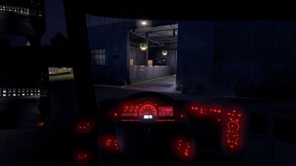 Renault Premium Red Dashboard