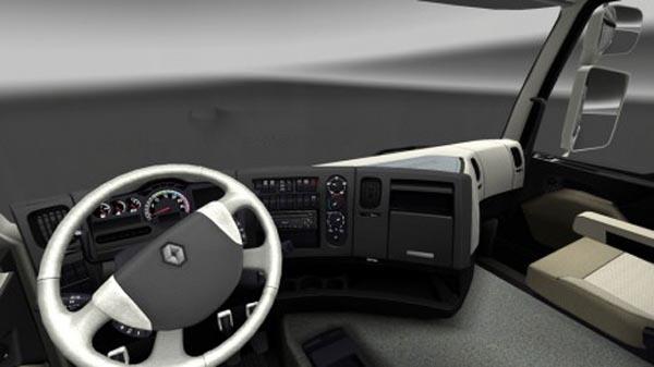 Renault Premium Sedefli Interior