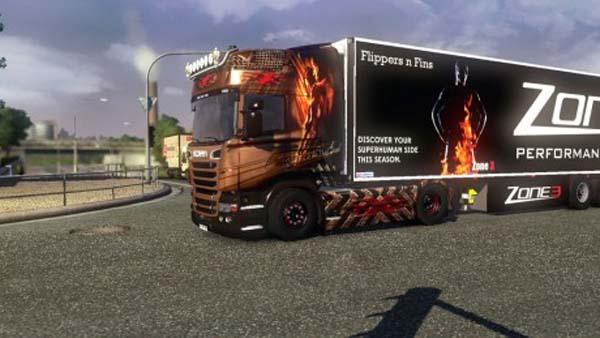 Scania Big X Skin