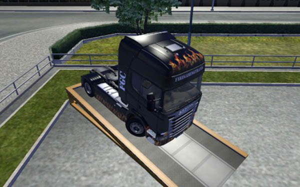Scania Fire Gaming Transport Skin