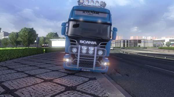Scania Kolnami Logistics Skin