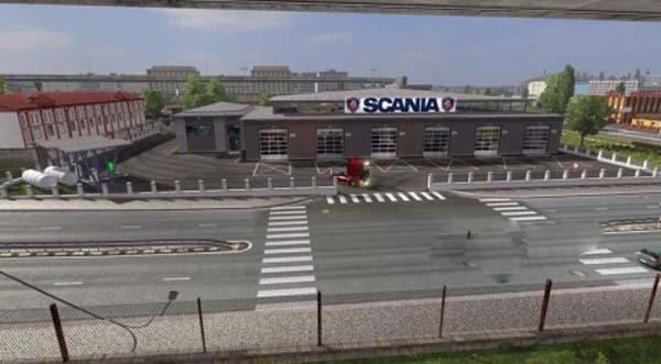 Scania Large Garage Edit
