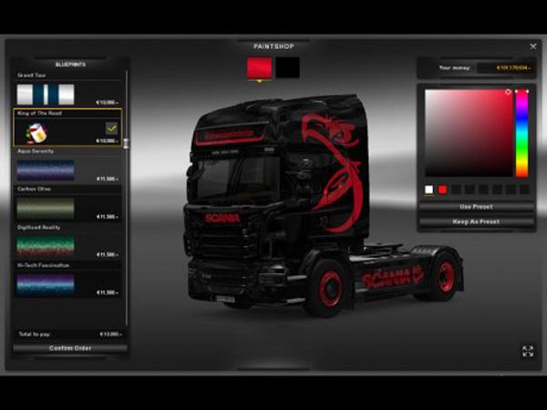 Scania R2009 Skin