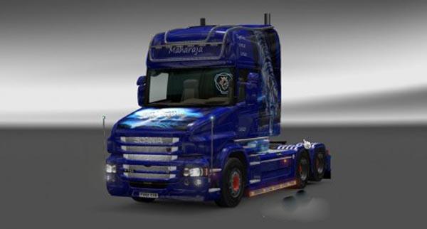 Scania T Maharaja Skin