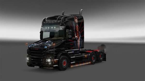 Scania T cab Terminator