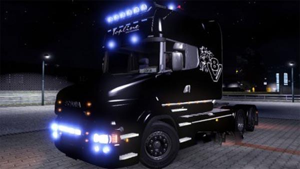 Skin Scania T EXC Topline V8