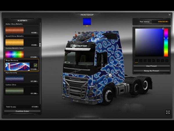 Volvo FH 2012 Mega Mendung Skin