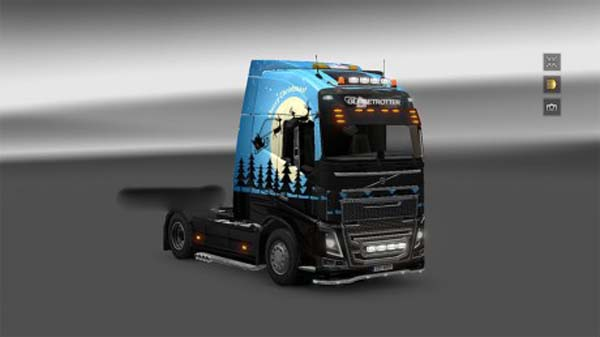 Volvo FH Merry Christmas skin